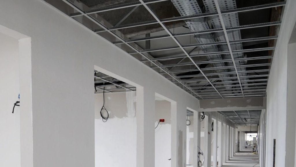 Drywall at FUSE Specialty Construction